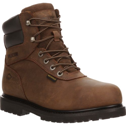 Wolverine Men's Iron Ridge Steel Toe Work Boots - view number 2