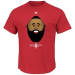 Majestic Men's Houston Rockets James Harden Emoji T-shirt