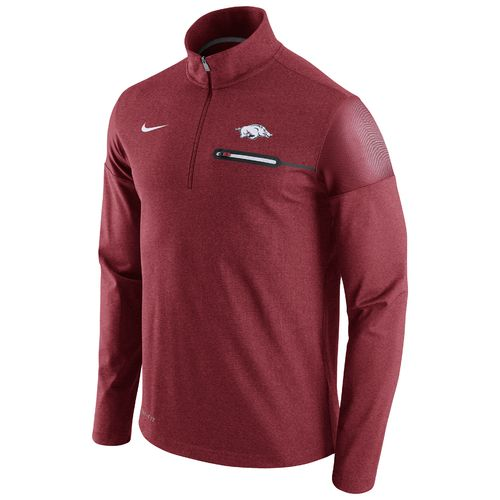 Nike™ Men's University of Arkansas Coaches 1/2 Zip Jacket