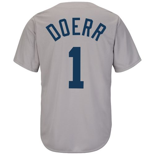 Majestic Men's Boston Red Sox Bobby Doerr #1 Cooperstown Cool Base 1969 Replica Jersey