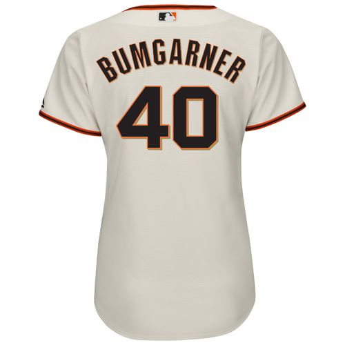 Majestic Women's San Francisco Giants Madison Bumgarner #40 Cool Base Replica Jersey