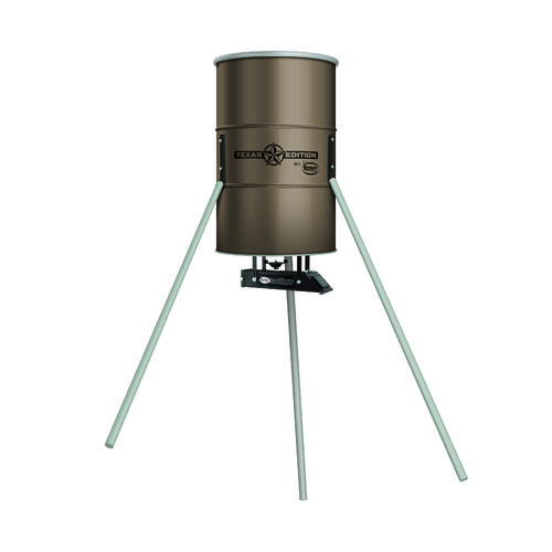 American Hunter Texas Edition 350 lb. Tripod D8 Wildlife Feeder