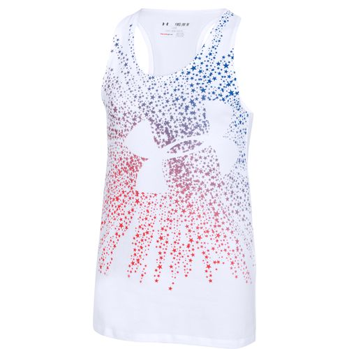 Under Armour® Girls' Shooting Star Big Logo Tank