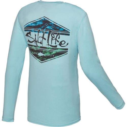 Salt Life™ Men's Scheme SLX UVapor Performance Long