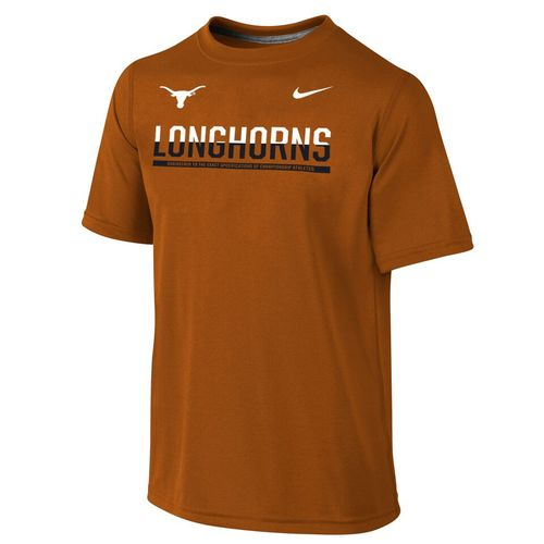 Nike™ Boys' University of Texas Dri-FIT Legend T-shirt