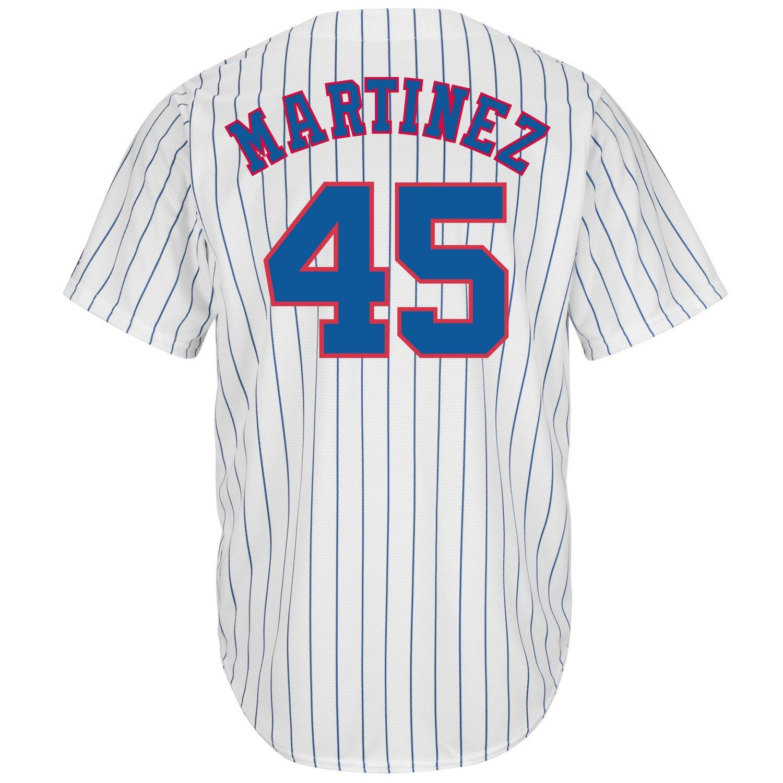 Majestic Men's Montreal Expos Pedro Martinez #45 Cooperstown