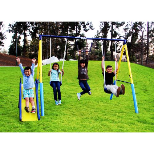 Display product reviews for Sportspower My First Metal Swing Set