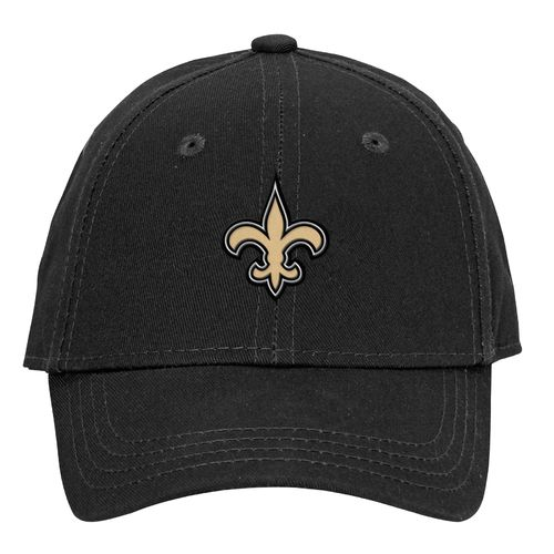NFL Toddlers' New Orleans Saints Lil' Constant Basic Structure Adjustable Cap