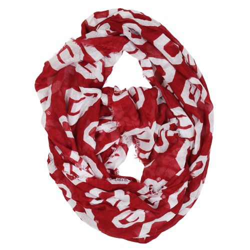 ZooZatz Women's University of Oklahoma Infinity Scarf