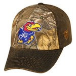 Top of the World Men's University of Kansas Driftwood Cap