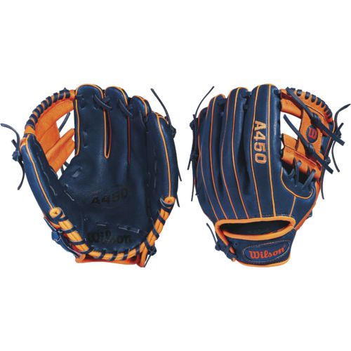 """Display product reviews for Wilson Youth A450 Jose Altuve 10.75"""" Baseball Glove"""
