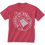 New World Graphics Men's Mississippi State University Alt Graphic T-shirt