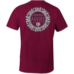 Image One Women's Texas A&M University Color Me Comfort Color T-shirt
