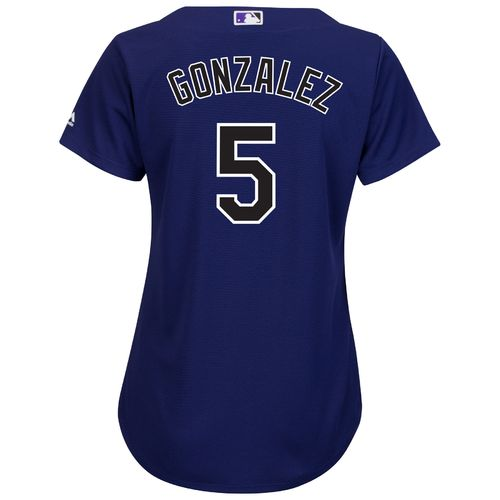 Majestic Women's Colorado Rockies Carlos Gonzalez #5 Authentic Cool Base Jersey