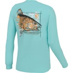 CCA™ Men's Redfish Watermark Long Sleeve T-shirt