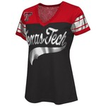 G-III for Her Women's Texas Tech University Pass Rush Fashion Top
