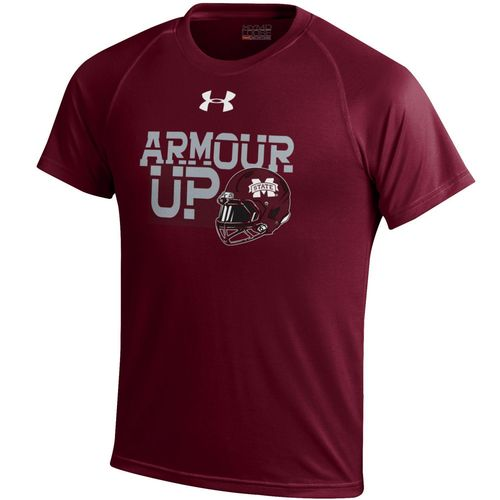 Under Armour™ Boys' Mississippi State University Tech T-shirt