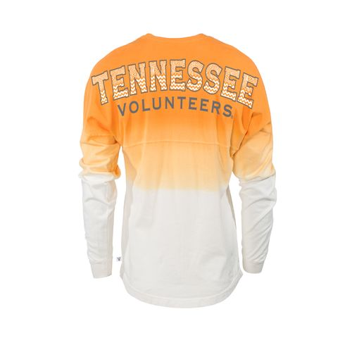 Venley Women's University of Tennessee Ombré Tribal Football T-shirt