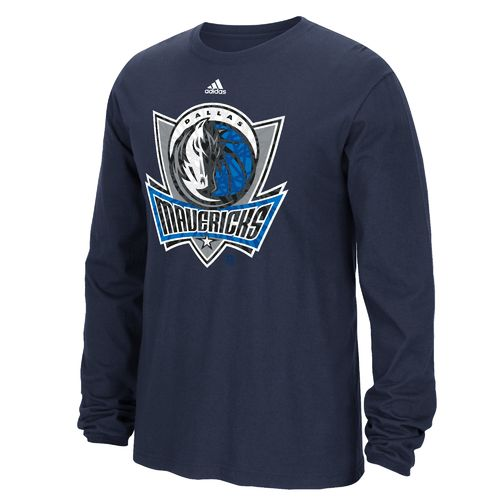 adidas™ Men's Dallas Mavericks Cut the Net Long Sleeve T-shirt