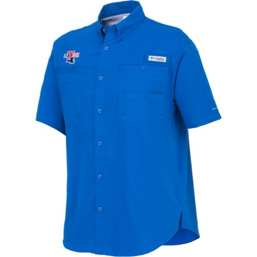 Columbia Sportswear Men's Louisiana Tech University Tamiami™ Button Down Shirt - view number 1