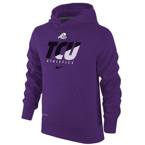 Nike Boys' Texas Christian University Therma-FIT KO Hoodie