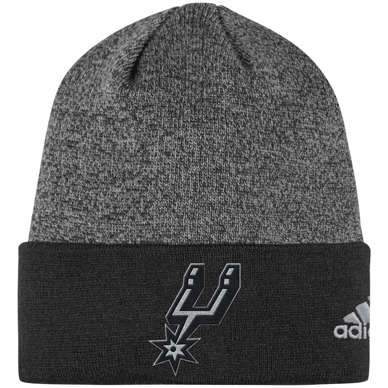 adidas™ Men's San Antonio Spurs Cuffed Logo Beanie