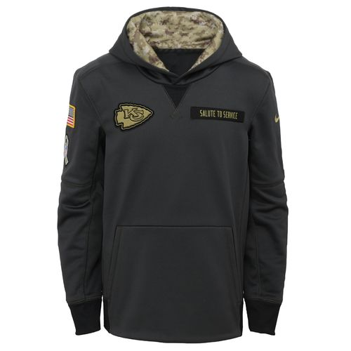Nike™ Boys' Kansas City Chiefs Salute to Service Hoodie