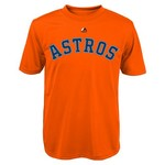 Majestic Boys' Houston Astros Alex Bregman #2 Name and Number T-shirt - view number 2