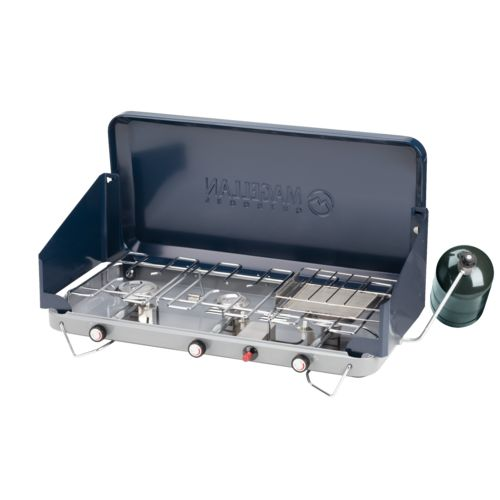 Magellan Outdoors 3-Burner Propane Stove with Toaster Accessory - view number 4
