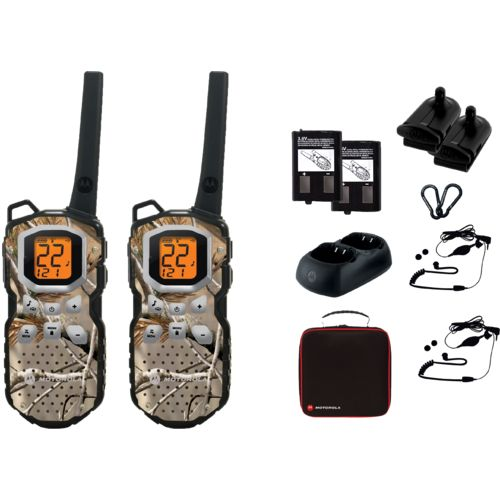 Motorola Talkabout MS355R FRS/GMRS 2-Way Radios 2-Pack