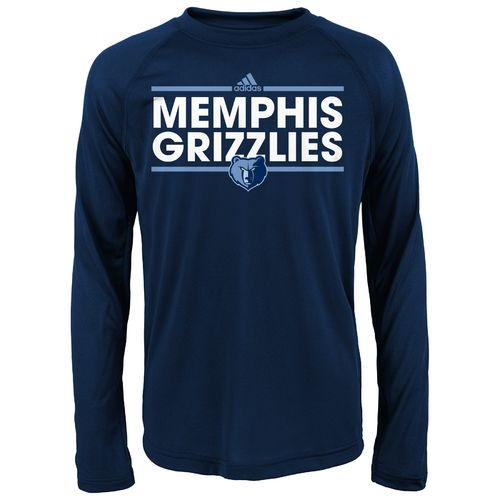 adidas™ Boys' Memphis Grizzlies Dassler Long Sleeve T-shirt