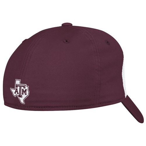 adidas™ Men's Texas A&M University Structured Flex Cap - view number 2