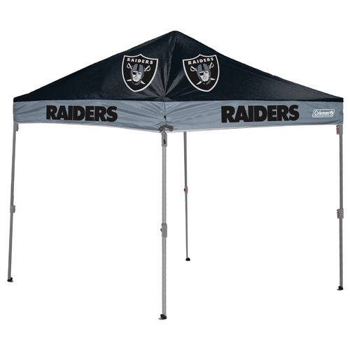 Coleman® Oakland Raiders 10' x 10' Straight-Leg Canopy - view number 1
