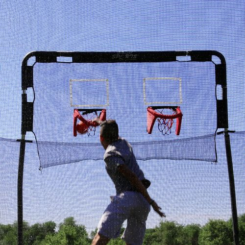 Skywalker Trampolines Double Basketball Hoop for 12' Trampolines - view number 1