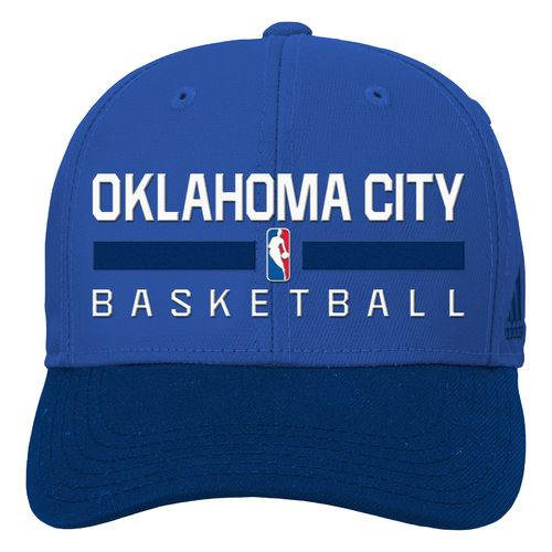 adidas™ Boys' Oklahoma City Thunder Structured Adjustable Cap