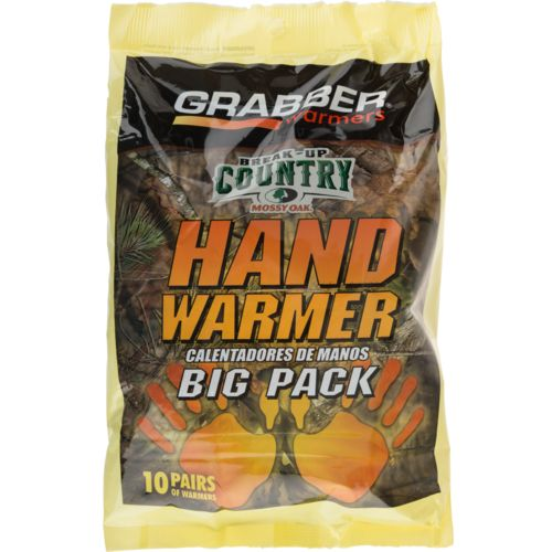 Grabber Mossy Oak Hand Warmers 10 Pairs
