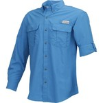 Magellan Outdoors Men's Laguna Madre Solid Long Sleeve Fishing Shirt - view number 1