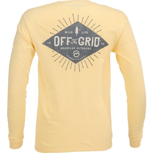 Magellan Outdoors™ Men's Off the Grid Long Sleeve Pocket T-shirt
