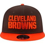 New Era Men's Cleveland Browns 9FIFTY Baycik Snapback Cap - view number 6