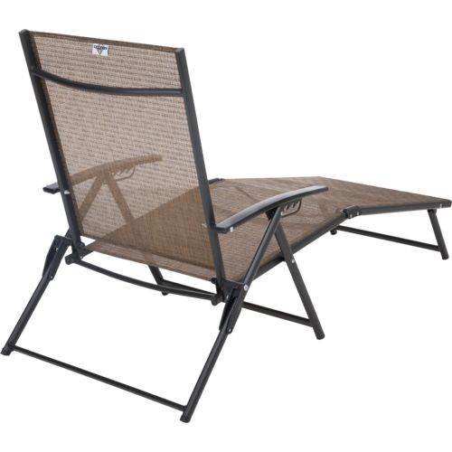 ... Mosaic Folding Sling Chaise Lounge - view number 2 ...  sc 1 st  Academy Sports + Outdoors : sling chaise lounge chair - Sectionals, Sofas & Couches