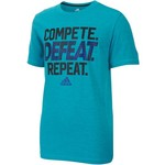 adidas Boys' climalite Compete Defeat Repeat T-shirt - view number 1