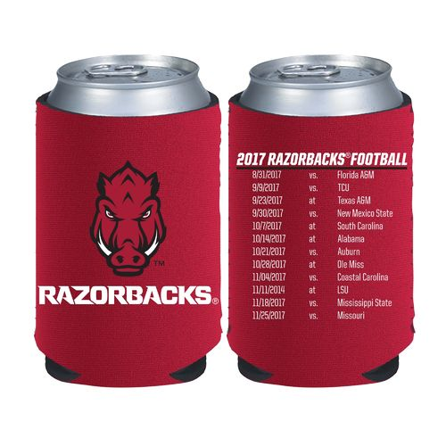 Kolder Kaddy University of Arkansas 2017 Football Schedule 12 oz Can Insulator