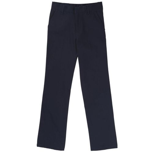 French Toast Boys' Adjustable Waist Double Knee Uniform Pant