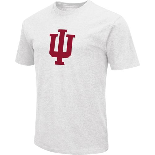 Colosseum Athletics Men's Indiana University Logo Short Sleeve T-shirt