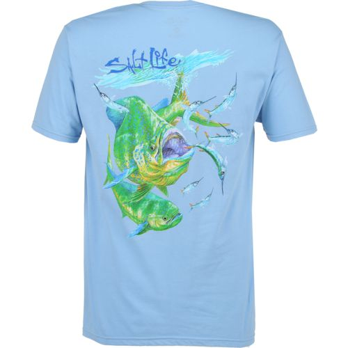 Salt Life Men's Bustin' Ballyhoo Short Sleeve T-shirt