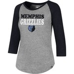 '47 Memphis Grizzlies Women's Wordmark Club T-shirt - view number 1