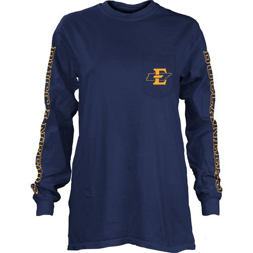 Three Squared Juniors' East Tennessee State University Mystic Long Sleeve T-shirt