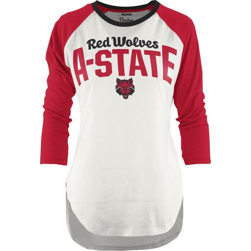 Three Squared Juniors' Arkansas State University Quin T-shirt