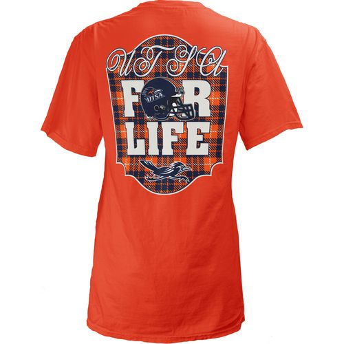 Three Squared Juniors' University of Texas at San Antonio Team For Life Short Sleeve V-neck T-sh