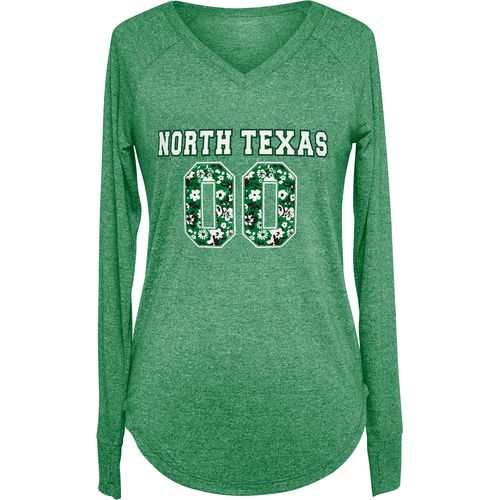 Chicka-d Women's University of North Texas Favorite Long Sleeve T-shirt